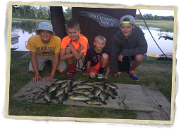 Boys and Crappies